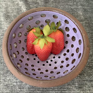 Lavender Berry Bowl
